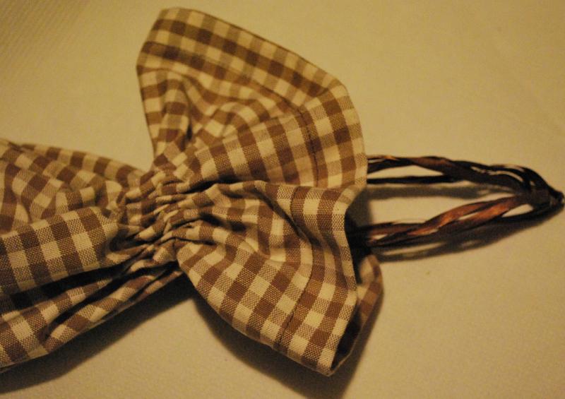 Porta sacchetti di stoffa cucire e creare - Porta sacchetti ...