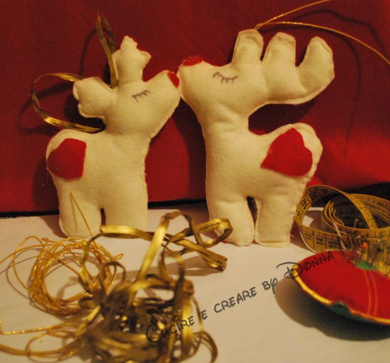 Renne Di Natale Cucire E Creare