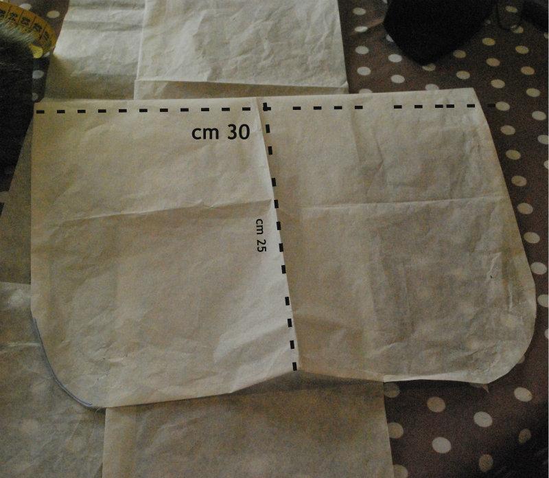 Très borsa con pelliccia ecologica | cucire e creare BQ19